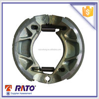 YBR125 Best seller top rated high quality motorcycle parts, motorcycle brake shoes for wholesale