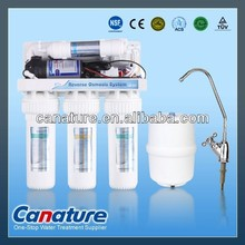 Best sell household 5 stage Reverse Osmosis RO water filter system, RO manufacturer