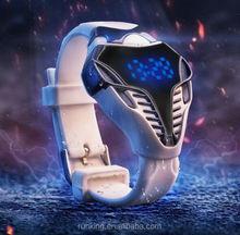 Snake dial LED Watch Men Sports Dragon Dial Unique Desgin watch