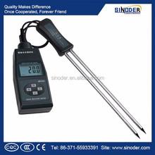 Medidor de umidade para têxtil tabaco medidor de umidade do solo ph medidor de umidade medidor de umidade de feno