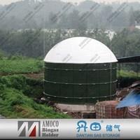 2015 China Excellent Enamel Steel Biogas Pit Latrine Waste Digester Tank