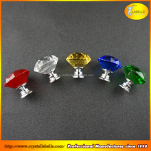 Clear Crystal Glass Drawer Konb Pull Crystal Door Wholesale Crystal Glass Hardware