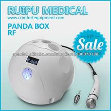 Uso doméstico panda eliminación de arrugas RF y máquina de elevación de la piel