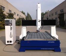 4 axis 3d cnc stone sculpture machine with hiwin square orbit