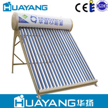 2015 china popular unpressurized stailess steel solar hot water heater