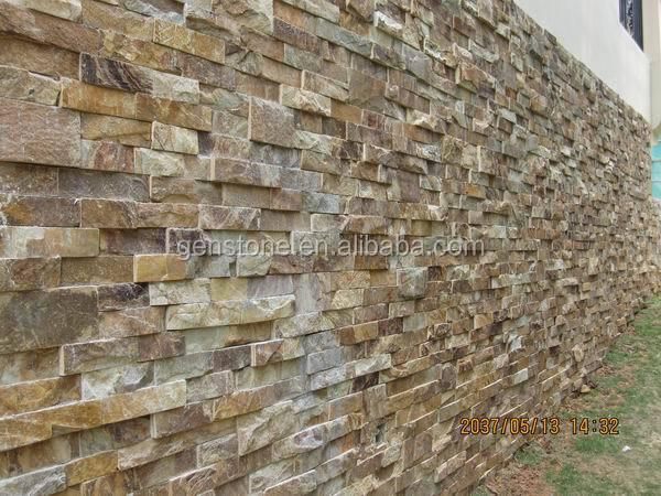 Rouill e ardoise de culture ext rieur mur de s paration de for Nettoyer mur exterieur