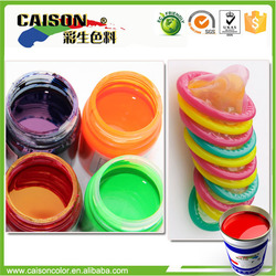 Chinese color pigment for condom stain