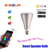 E27 Application Control LED Light Bluetooth Speaker Bulb