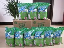 2015 new product ,bentonite cat litter ,natural fragrance