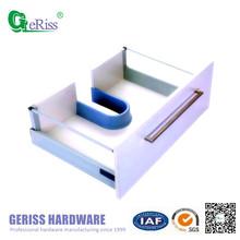 Geriss Soft Closing Metal Drawer Slide With U Type Water Tank Accessories(Plastic)