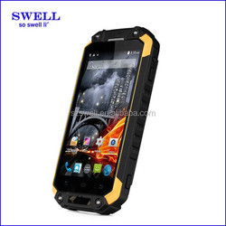 rugged android phone X8 IP68 water proof shock proof cheap mobiles 4.7 inch QHD screen mobile phone with walkie talkie SOS NFC
