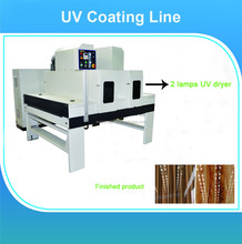 UV painting machines for mdf / Desktop uv plastic lamination machine