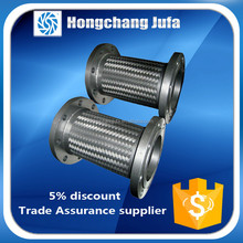 foshan high temperature stainless steel corrugated pipe flexible metal hose pipe