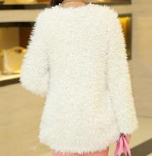 oem supply type coats, street fashion fur coats, fake fur jacket