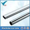 Vt-10.005 hardware móveis guarda-roupa oval tubo de aço cromado