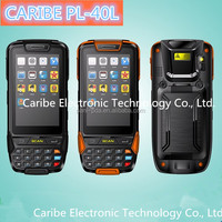 CARIBE PL-40L AM124 rugged android bluetooth rfid reader tablet with WiFi,GSM/GPRS/3G, Camera, GPS