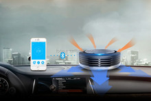 smart mini HEPA Air Purifiers & Air filter for cars with negative ion ozonizer