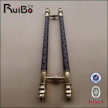 wood door stainless steel pull handle,wooden entrance door handles RB-3279