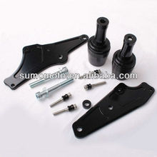 100% CNC Machined CBR500R 2013 No Fairing Cut Delrin or Carbon Fiber Frame Slider for Motorcycle 750-3210