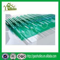 soundproof uv coating pc green house sheets/greenhouse uv plastic