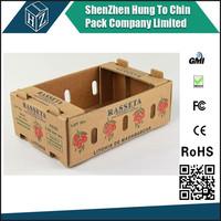 Shenzhen 4 color pringting cardboard lettuce packing