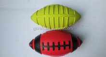 Promotional Latex Rugby Dog Chew Toy