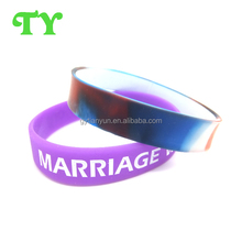 new factory direct beautiful color silicone wristband for friendship