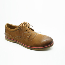 high quality classic oxfords style male genuine leather casual shoes fits for office and daily life