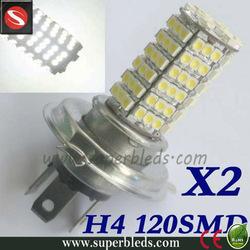 superbleds fog light h4 120smd car accessory