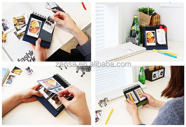 le zebra mini polaroid bureau album pour fujifilm instax. Black Bedroom Furniture Sets. Home Design Ideas