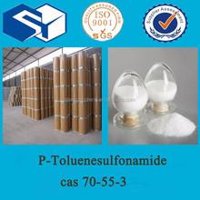 Producto químico p-toluenesulfonamide, PTSA ; PASAM reactivos químicos CAS 70-55-3