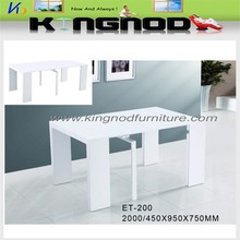wood dining table modern design