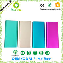 Universal External Portable super thin slim power bank 20000mah In Shenzhen
