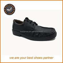 latest pu flat men dress shoe