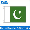 custom white green flag /wholesale Pakistan flag
