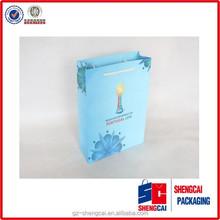 Wholesale beautiful custom printed art paper Activities tailored bag
