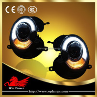 For 07-13 BMW Mini Cooper R55 R56 HID Headlights With Bi-xenon Projector And DRL