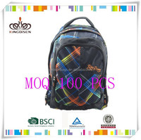 2015 New Design Durable nylon Sport Backpack Bag with Shoe Compartment