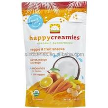 food packaging plastic bag(food grade/FDA) for fruit snack