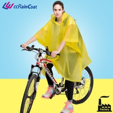 Reusable extra large rain poncho for motorcycle
