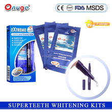 2015 teeth whitening kits for home use easy to use for private label better than crest strips