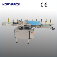 used for glass wine bottle automatic paper label glue stick labeling machine