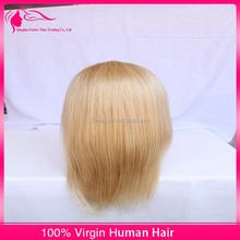 Best selling hair wigs blonde silk straight European hair kosher wigs cheap human hair Jewish wig