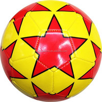 2015 hot sale cheap PVC soccer ball for promotion training