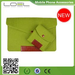 Wool Felt Liner Sleeve Computer Bag 11 12 13 15 inch Laptop Bag Waterproof Case for Macbook Air