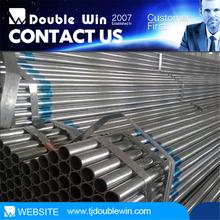 q195-q235 / 1/2-8 inch Hot dip galvanized steel pipe/astm a 53/ tubo galvanizado de acero
