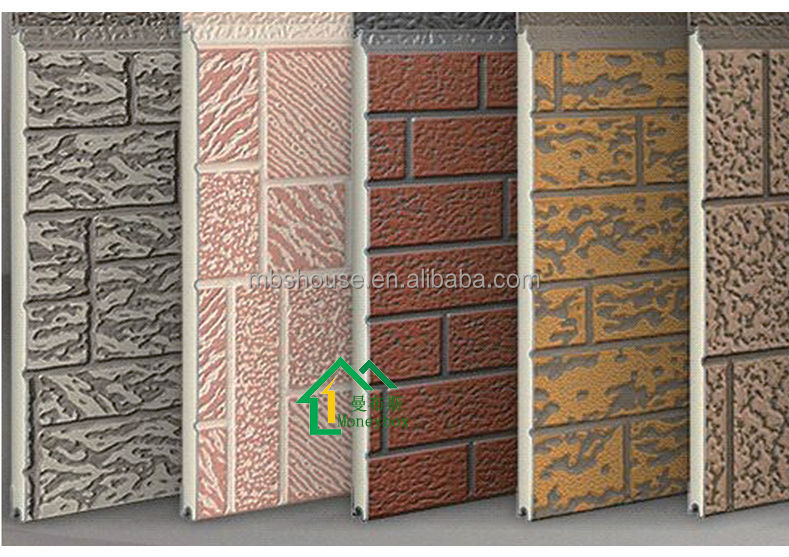 Cheap Sandwich Panel Exterior Wall Metal Insulation Board Carved Metal Insulation Board For
