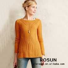 2015 Women Clothings Designer Pullover Knitwear Ladies Sweater with New Design