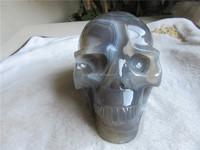 hot carving agate crystal craft for sale,Euramerican hot sale crystal skulls for health