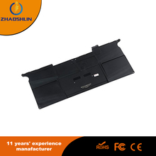 one year warranty 6cells 5100mah 7.6v laptop battery for apple macbook A1495 replacement brand new notebook battery